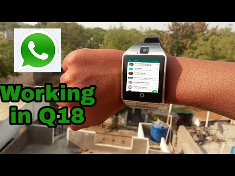 New Q10 Smartwhach WhatsApp and Facebook  #Q10 smart watch unboxing and  full review