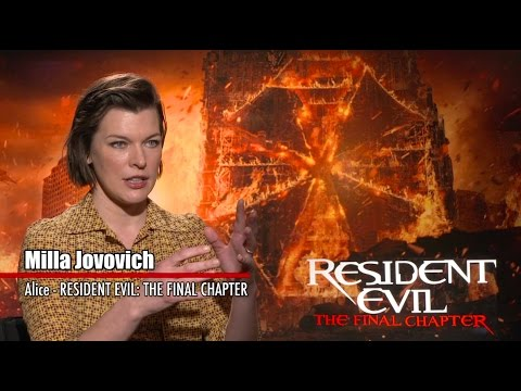 Exclusive Interview: Milla Jovovich and Paul W.S. Anderson | RESIDENT EVIL: THE FINAL CHAPTER