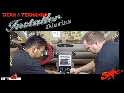So We Put A New Radio In A G35 And Oh Yeah Kept The Steering Wheel Controls   Install Diaries 84