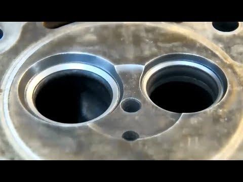 Притирка клапанов и проверка на герметичность
