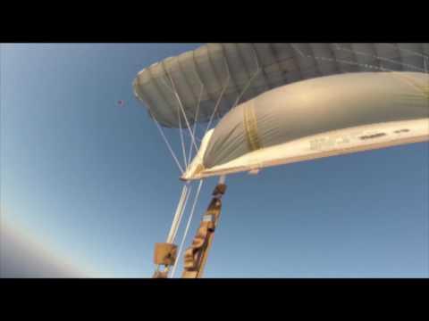 RA-1 Parachute Test Jump