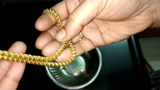 CLEAN/POLISH OLD GOLD JEWELLERY AT HOME
