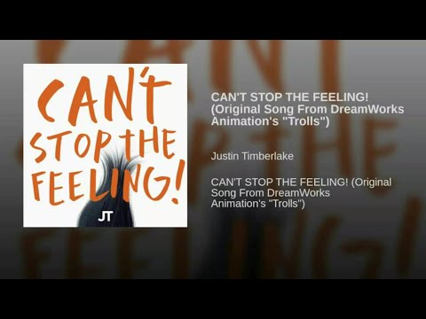 "Клип Justin Timberlake - Can't Stop The Feeling! (Original Song From Dreamworks Animation's ""Trolls"")"