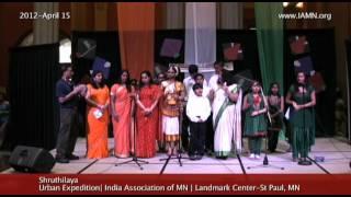 Shruthilaya-Song 2 [India Association of MN]