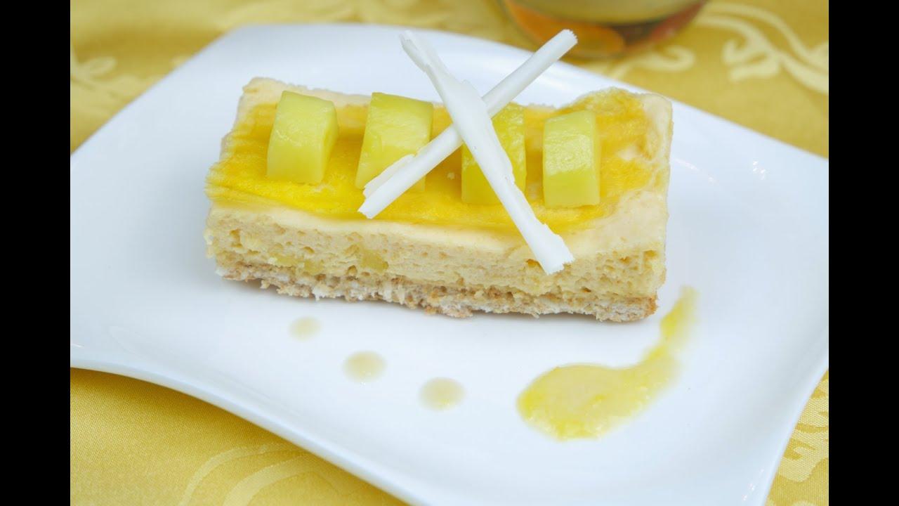 Mango biskuit kuchen
