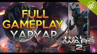 Halo Wars 2 : NEW Leader Yapyap - FULL GAMEPLAY (Developer Stream Preview) All Units and Abilities