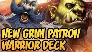 Hearthstone: New Grim Patron Warrior Deck