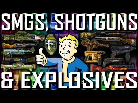 SMGs, Shotguns & Explosives - Fallout New Vegas - Rare& Unique (Includes DLCs)