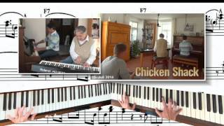 Back at the Chicken Shack (Piano Duet)