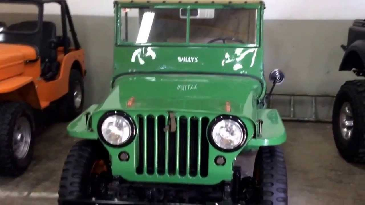 Jeep Willys En La Republica Dominicana Youtube