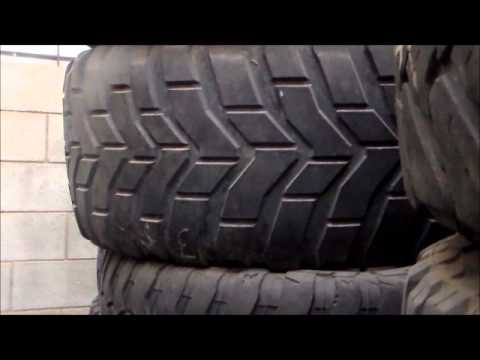 Used offroad and all terrain tires sizes 33/12.5/20