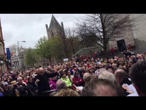 Messiah on the street - Halleluja - Georg Friedrich Händel - live in Dublin