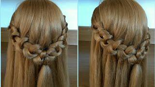 New hairstyle for girls Simple hairstyle Новая прическа для девочек Простая прическа