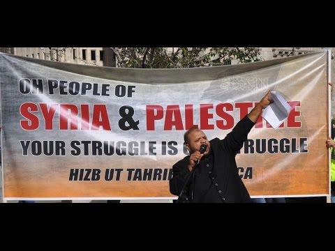 Syria Palestine Rally