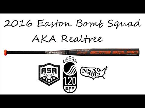 2016 Easton Bomb Squad Long Barrel (Realtree) ASA/USSSA/NSA (SP16BSUA)