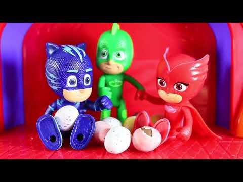 PJ Masks Toys Videos - PJ Masks Toy Adventure! Surprise Eggs Toys | Superhero Cartoons for Kids