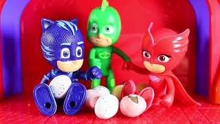 PJ Masks Toys Videos - PJ Masks Toy Adventure! Surprise Eggs Toys | PJ Masks Official