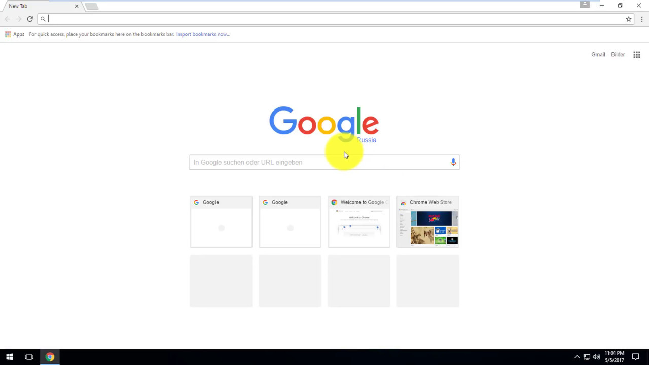 How to change the language on Google Chrome from German to