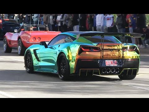 Car Show Exits - Coffee and Cars January 2019