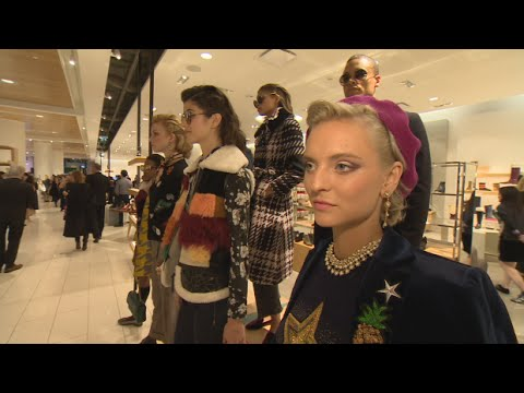 Nordstrom opens for business in Toronto Eaton Centre