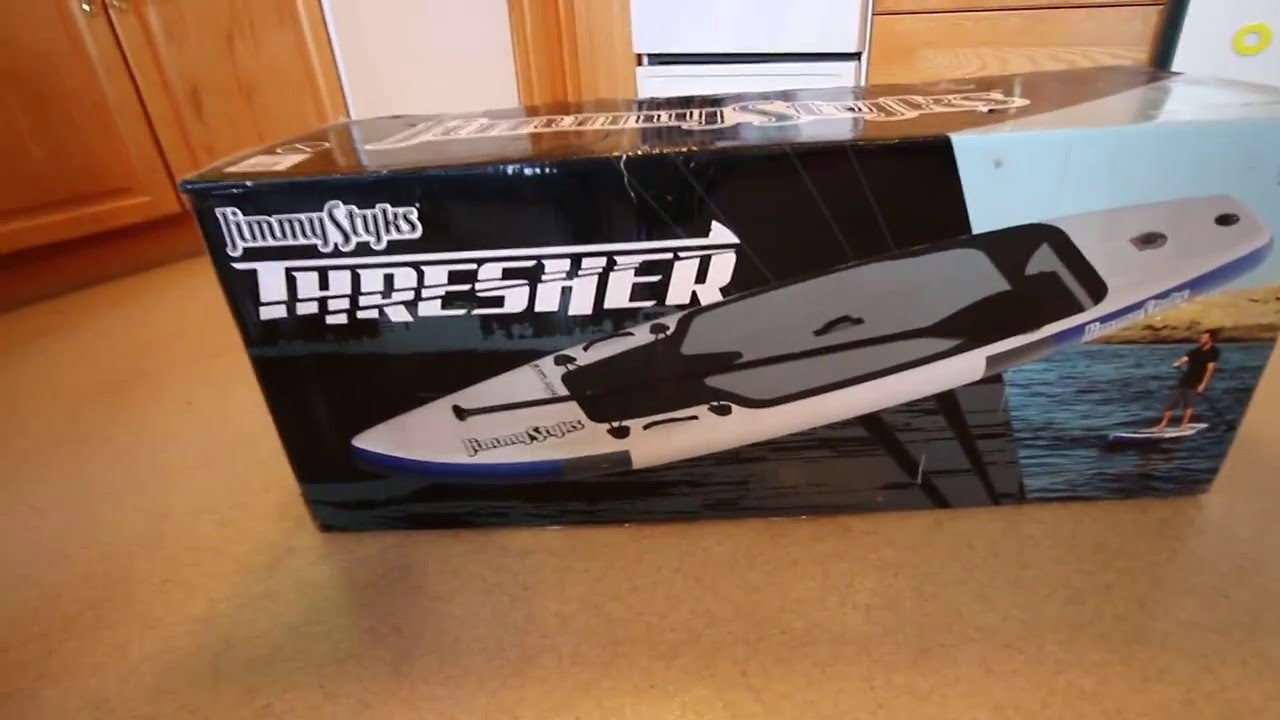 Jimmy Styx Thresher Inflatable Sup Unboxing And Inflating