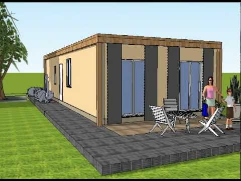 Maison container 2 chambres youtube - Maison container ...
