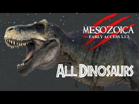 Dinosaurs from Mesozoica