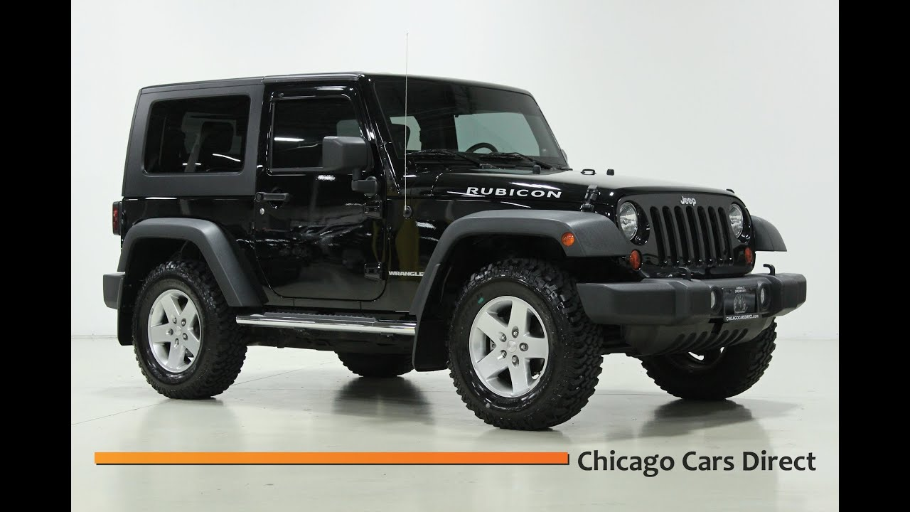 Chicago Cars Direct Presents a 2010 Jeep Wrangler Rubicon 4WD 6