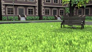 How to create grass in Maya using MASH - Tutorial (Redshift rendering)