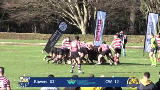 Rugby highlights: Rowers v CW, CDI Premier Division Feb 21, 2015