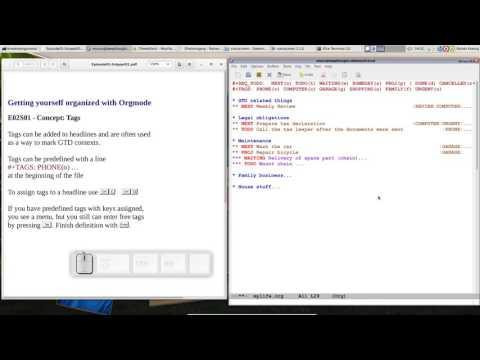 OrgMode E02S01: Tags