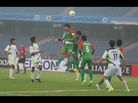 Bangladesh vs Pakistan (Full Match) SAFF Championship 2011