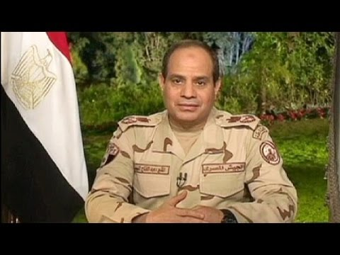 Egyptians welcome Sisi as presidential candidate