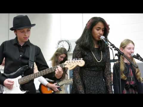 Foote School Jazz Rock Ensemble Performs