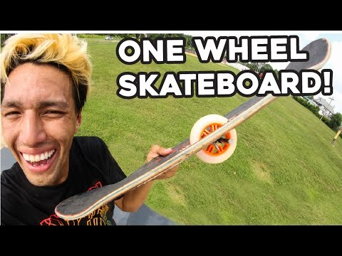 Custom one wheel skateboard new skateboard inventions youtube - Invention du skateboard ...