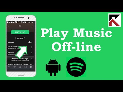 How To Play Music Offline Spotify Android