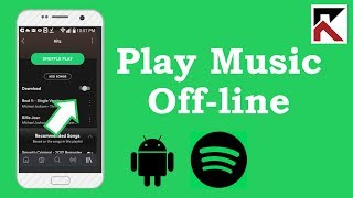 how-to-play-music-offline-spotify-android