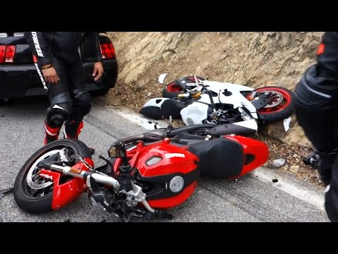 Thumbnail: Hectic Road Bike Crashes & Motorcycle Mishaps [Ep.#11]