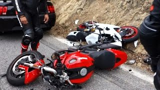 Hectic Road Bike Crashes & Motorcycle Mishaps [Ep.#11] thumbnail