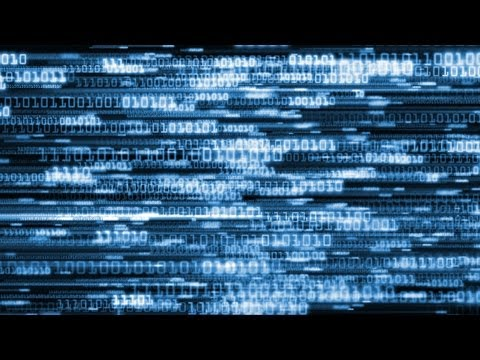 Matrix Computer Coding 1's & 0's Background Loop