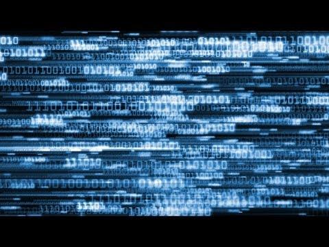 Matrix Computer Coding 1's & 0's Background Loop