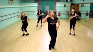 Zumba Dance Workout Fitness Routine Tutorial:Dime (Album Version) - Ivy Queen w/lyrics