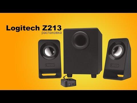 Акустическая система Logitech Z213 Black (980-000942)
