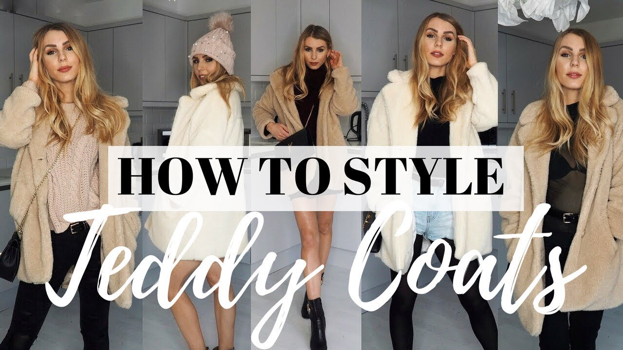 Teddy Cocoon Jas.How To Wear Teddy Coats In 2018 Borg Jacket I Am Gia Pixie
