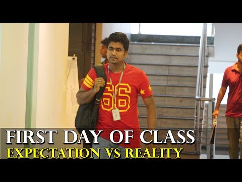 First Day of Class | Expectation vs Reality | University of Asia Pacific