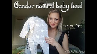 Gender neutral baby haul   winter baby due 2018 - VLOGMAS DAY 9