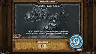 Hearthstone Brawl - Death Knight Brawl