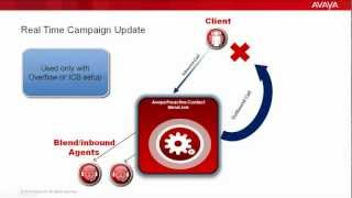 How to Configure Real Time Campaign Update in Avaya Proactive Contact