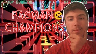 ¡¡JUGANDO A PACMAN CHAMPIONSHIP CON MI HERMOZA CARA!!  [Tropigames]