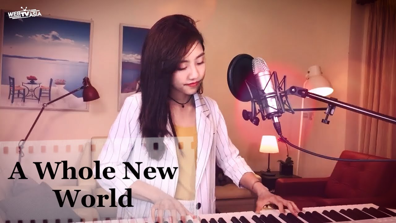"""A Whole New World"" by 蔡佩軒 Ariel Tsai 翻唱 COVER (From ""Aladdin"")"